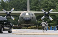Teen found dead in the wheel-well of an American military cargo plane