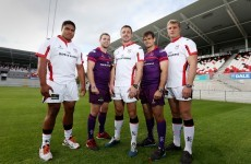 Ulster have gone for a unique purple away kit this season