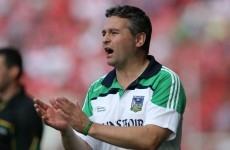 TJ Ryan wants calm in Limerick after hype before 2013 All-Ireland semi-final