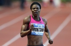 Former world champion Montsho fails drugs test at Commonwealth Games