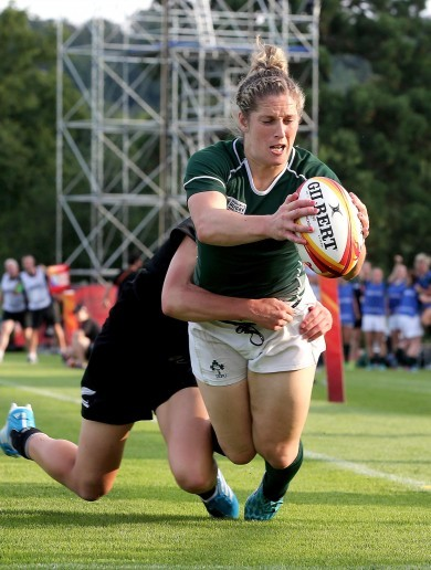 'We could have panicked, but that's just not us' — Ireland's try-scoring hero Alison Miller