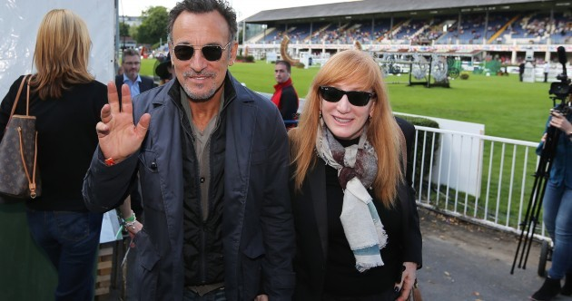 The Boss is back in town: Bruce Springsteen makes RDS return to see daughter in action