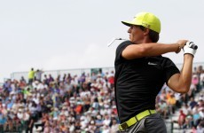 Millimetres from a hole in one, Thorbjorn Olesen ends up with a bogey