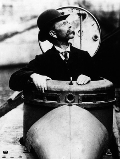 The inventor of the submarine is being honoured in Clare this month
