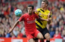 Brendan Rodgers tips in-form Coutinho to become Anfield great