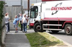 Greyhound trucks 'blocked' by protesters as court date looms