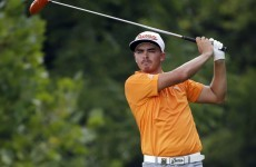 Rickie Fowler did something at the majors that has never been seen before