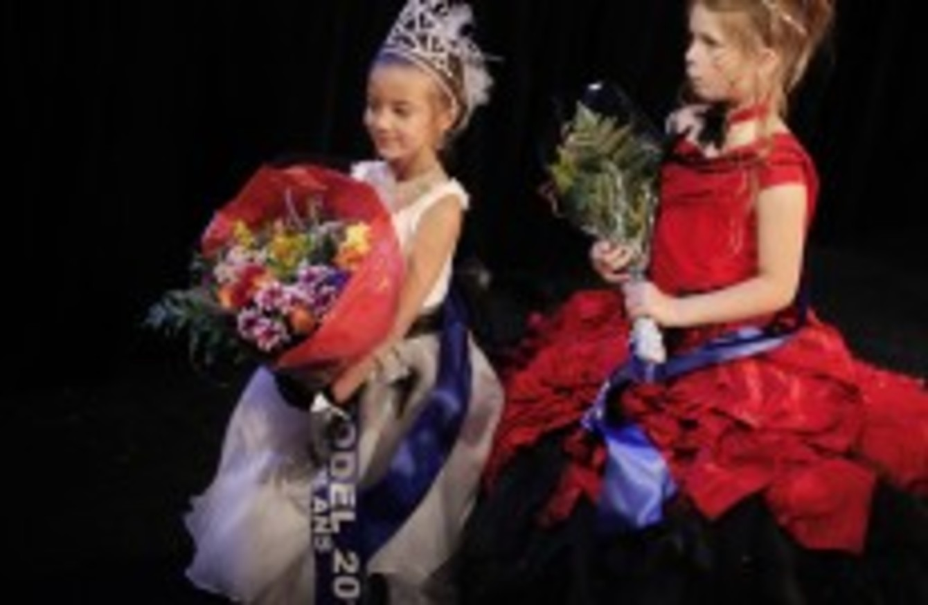 it s great news that child beauty pageants have been axed senator the universal royalty beauty contest is planning to proceed its belfast pageant