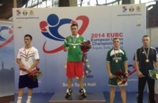 Ireland's David Joyce wins third successive European gold
