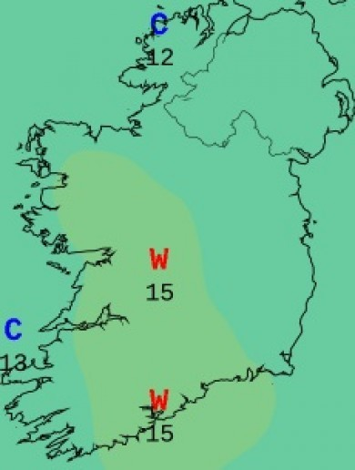 It'll feel a bit nippy this week as temperatures fall back