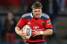 Munster hooker Sherry set for six more months on the sidelines
