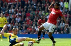 Nani is going back to Sporting Lisbon and a mean kid might be to blame