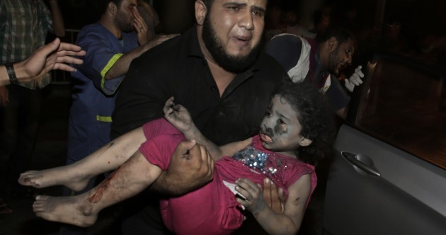 A pregnant woman and four children have been killed in Gaza