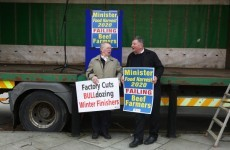 Irish farmers' anger at 'decimation' of income