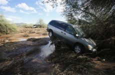WATCH: 'Monsoon' flood rips through Arizona desert region