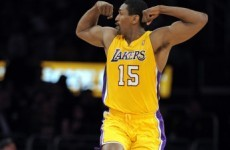 "Lakers' Ron Artest is changing his name to ""Metta World Peace"" to prove he's still crazy"