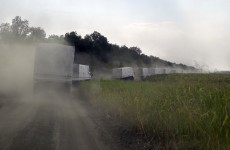 Russian aid convoy to Ukraine described as a 'direct invasion'