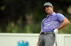 Roller-coaster Day, steady Furyk share PGA lead, McIlroy five shots back
