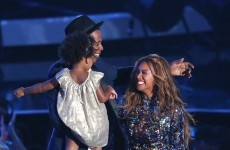 Baby Blue Ivy was the most important person at the MTV VMAs last night