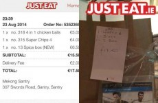 Best delivery driver in Dublin goes the extra mile