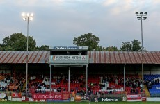 Floodlight failure at Tolka Park sees FAI Cup tie called off