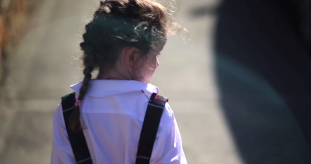 This lovely video perfectly captures the first day of school