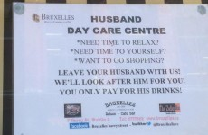 Is this Dublin's first 'husband crèche'?