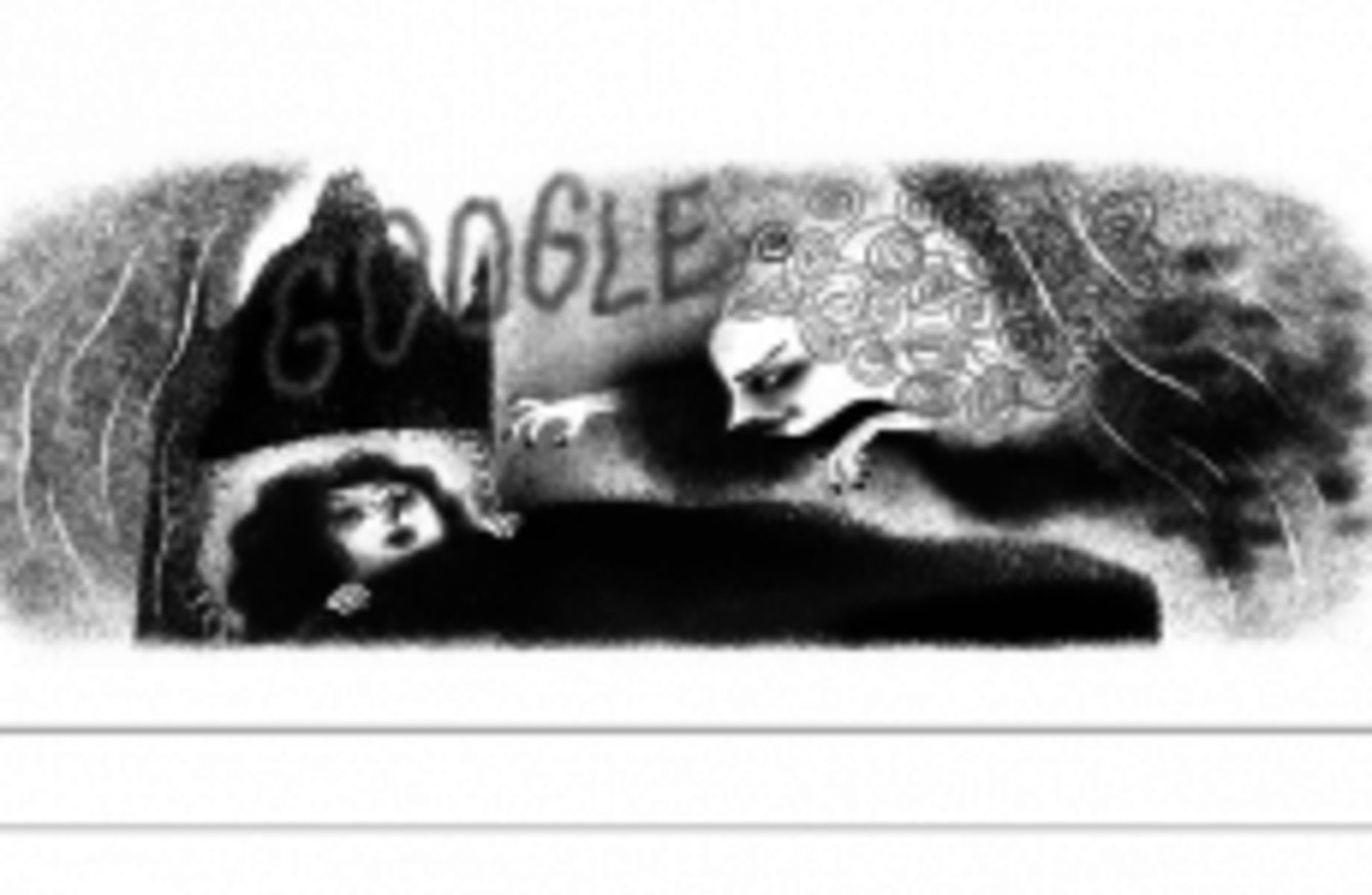 Google doodle thejournal the irish author of uncle silas was honoured with a google doodle today ccuart Image collections