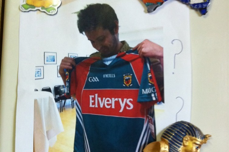"""I was forced to pose with a Mayo jersey. On fridge at home, my mother still wants answers... """