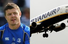 Even Brian O'Driscoll fears the Ryanair check-in fee