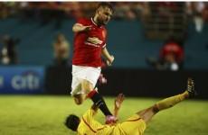 Van Gaal hits out at Roy Hodgson over Shaw