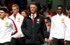 Louis van Gaal: 'We don't look world-class at the moment'