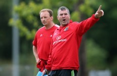 Strong form the best way for Munster to put report furore to bed