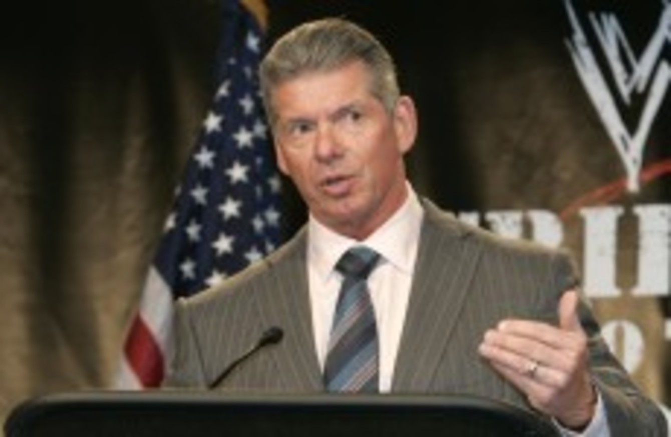 9 examples of wwe ceo vince mcmahon s unreal work ethic · the42 9 examples of wwe ceo vince mcmahon s unreal work ethic