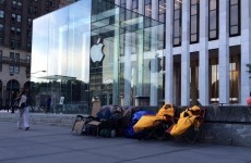 People are ALREADY queueing for the new iPhone in New York