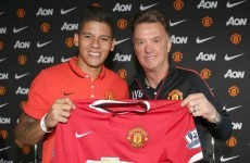 Marcos Rojo has finally been granted permission to play for United