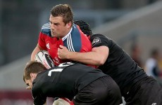 This Jack Cuthbert try handed Munster defeat at home to Edinburgh