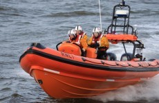 RNLI crew pump water from boat for over an hour to rescue 6 men