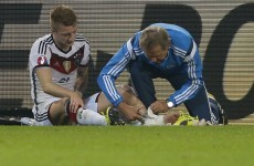 Reus a doubt for Ireland clash after injury blow