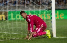 Oh Sergio Ramos, you cheeky divil