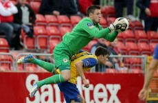 'The league is out of our grasp,' Pat's keeper Clarke concedes title