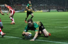 George North was an unstoppable monster last weekend