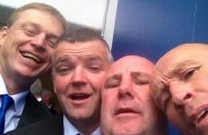 Great selfie of Tipperary's 1989 All-Ireland hurling heroes from Croke Park last Sunday