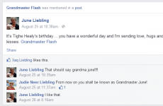 Adorable grandparents are accidentally tagging Grandmaster Flash in their Facebook posts