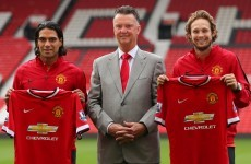 Van Gaal happy to swap misfiring Welbeck for Falcao