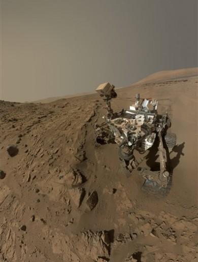 'The far frontier': NASA Curiosity rover makes it to Martian mountain