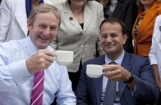 Public row? what public row?.. Enda's trying to draw a line under the Varadkar spat