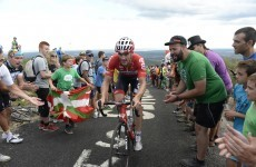 Aussie Hansen wins Vuelta 19th stage, Dan Martin still sixth overall