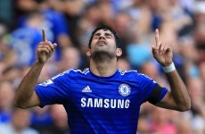 Magnificent Costa sends Chelsea clear