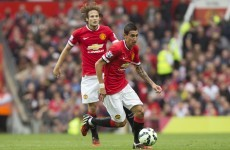 Angel delight as Di Maria shines to give van Gaal first Premier League win